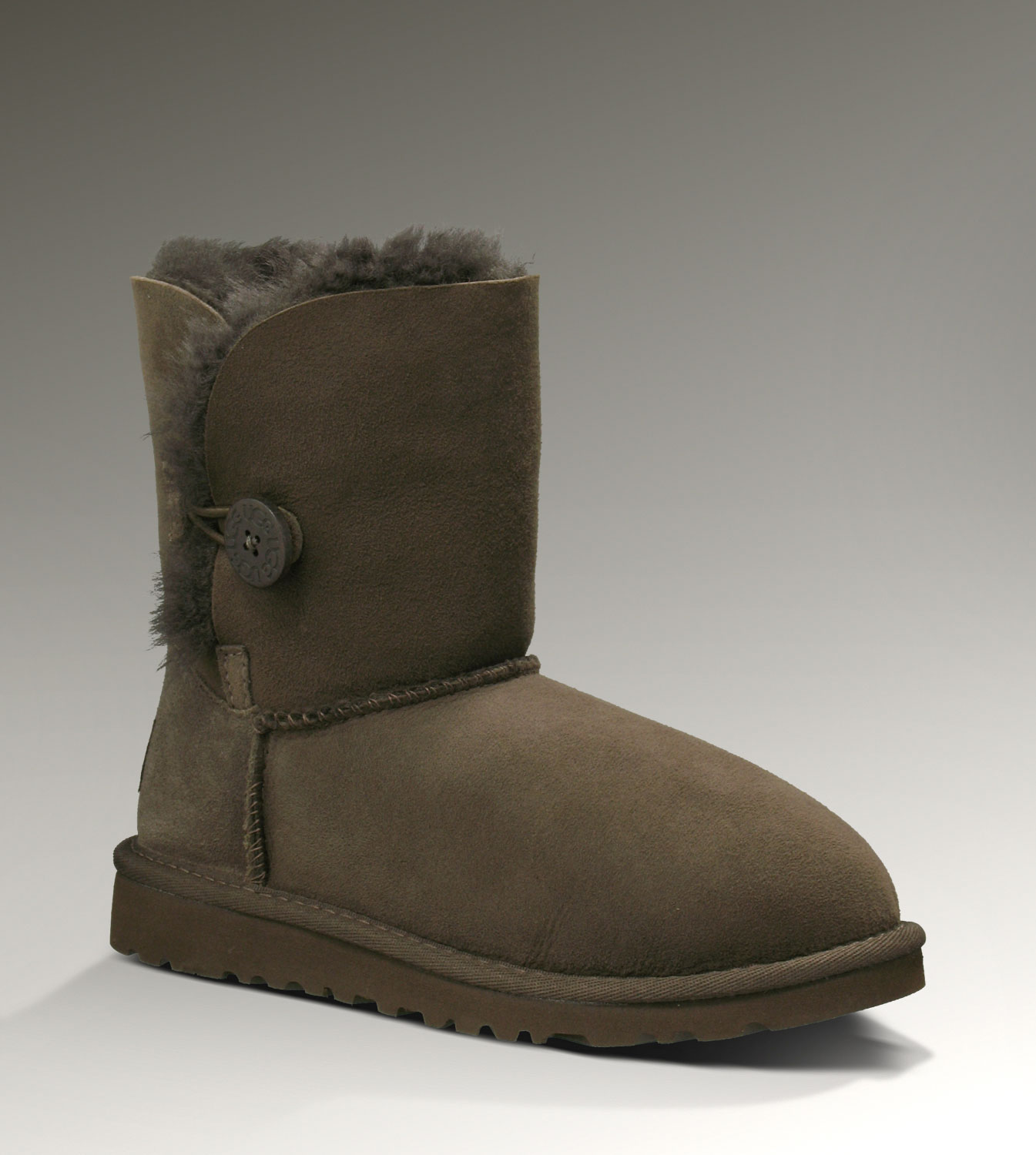 UGG Bailey Button 5991 Chocolate Boots